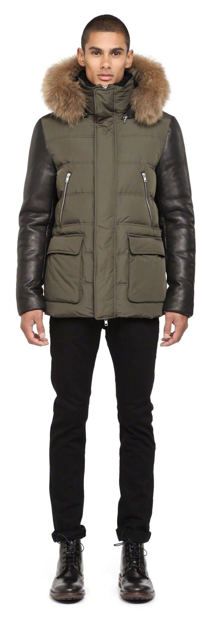 1000 ideias sobre Mens Fur Hood Coat no Pinterest
