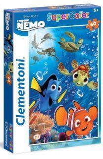 CLEMENTONI puzzle Hledá se Nemo: Po proudu 60 dílků