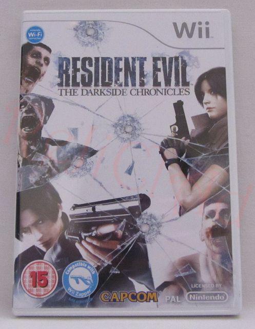 Resident Evil The Darkside Chronicles Nintendo Wii game