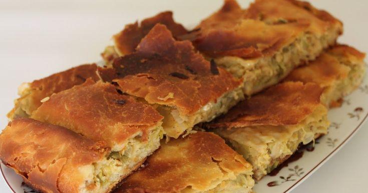 Zennik böreği bizim yöresel bir lezzetimiz. Aslında pırasalı börekte diyebiliriz. Kışın bizim evde en çok yapılan börektir. Bu fotoğrafı gün...