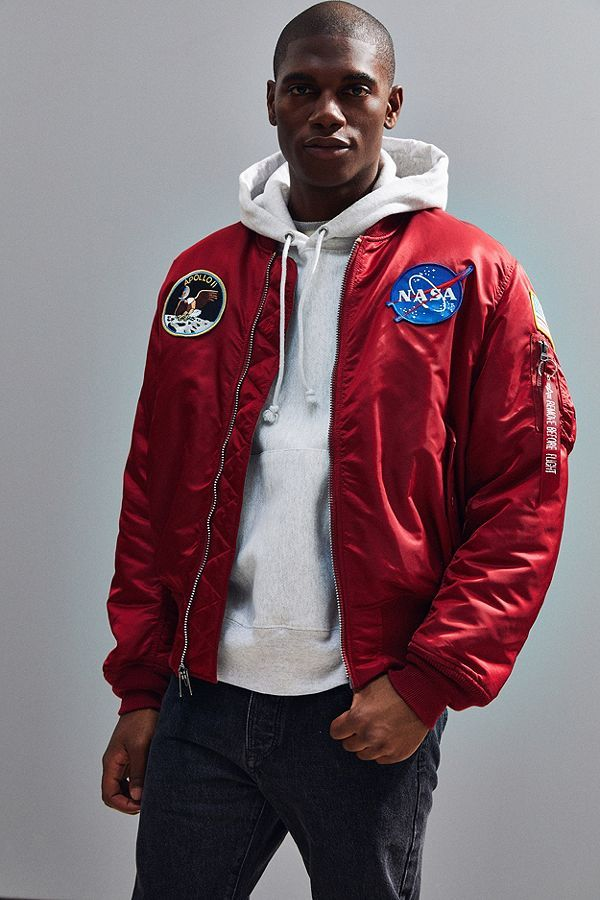 f65ffdbd Alpha Industries Apollo MA-1 Bomber Jacket | cloth | Bomber jacket ...