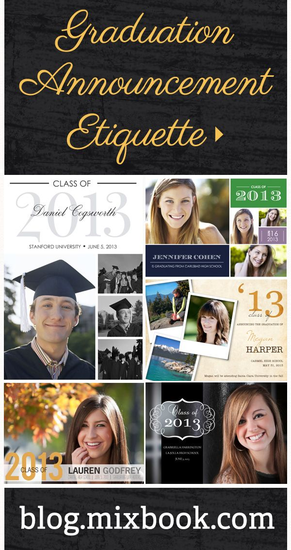 38 best graduation announcements images on pinterest graduation apr 20 what baby announcement fits your style filmwisefo Image collections