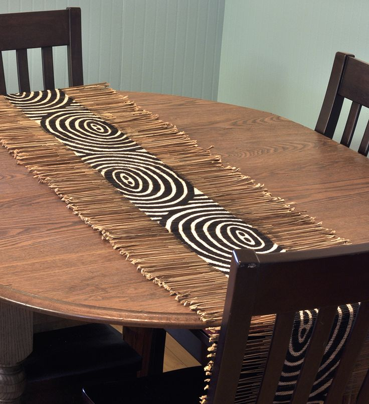 African Twig U0026 Mudcloth Table Runners. African Home DecorAfrican ...