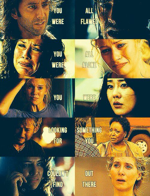 Although Lost made some of us cry, made some of us happy... it made us all see life differently.