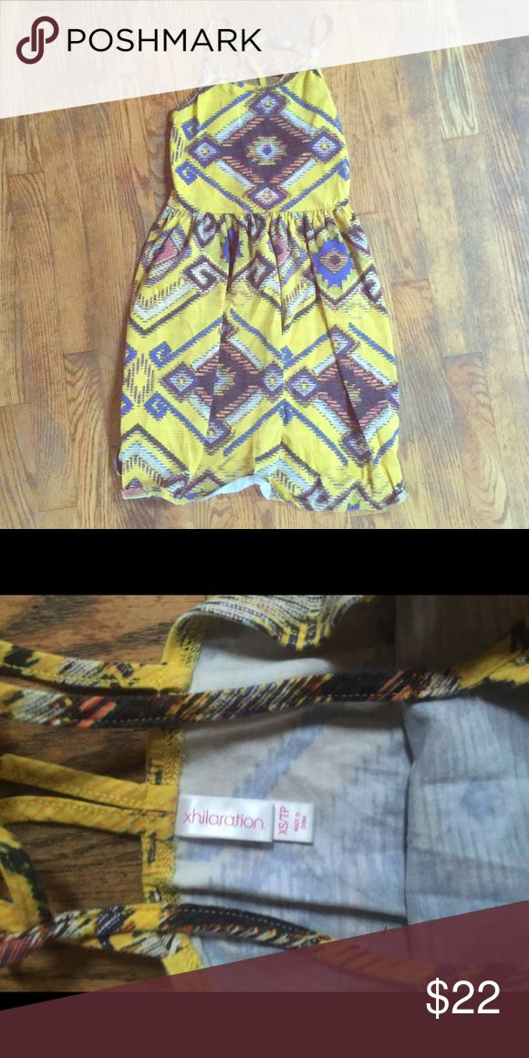 Tribal Dress Really cute and appropriate lengthen dress. Worn once!! Dresses Midi