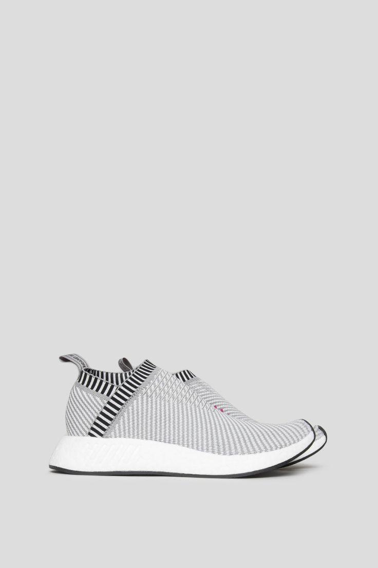 Adidas nmd cs2 primeknit grey white