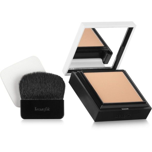 Benefit Cosmetics hello flawless! custom powder cover-up featuring polyvore, beauty products, makeup, face makeup and face powder