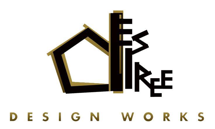 Desiree logo home interior design company pinterest for Home decor logo 99design
