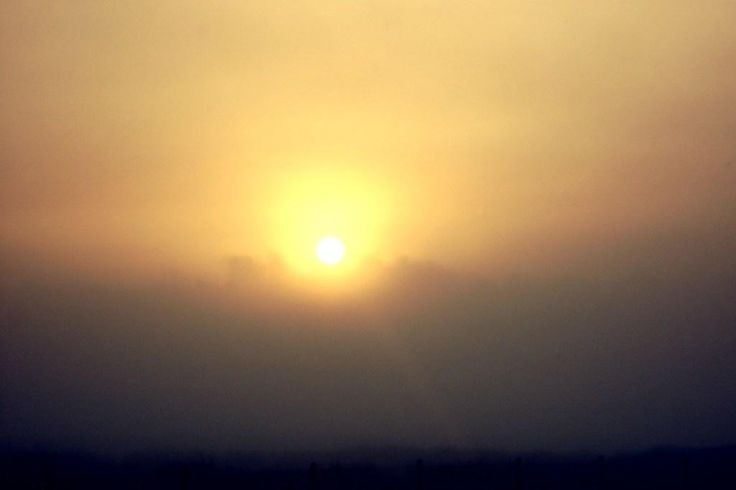"Title: ""Sunrise in Winter"""