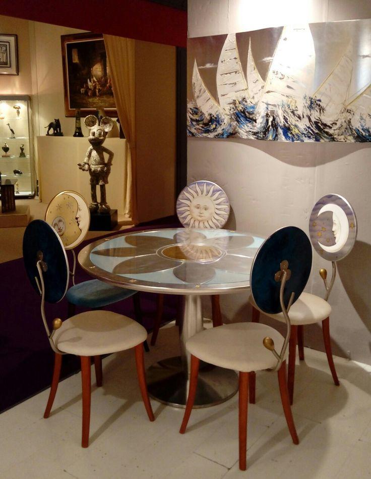 Oltre 25 fantastiche idee su sedie blu su pinterest arte for Sedie decorate a mano