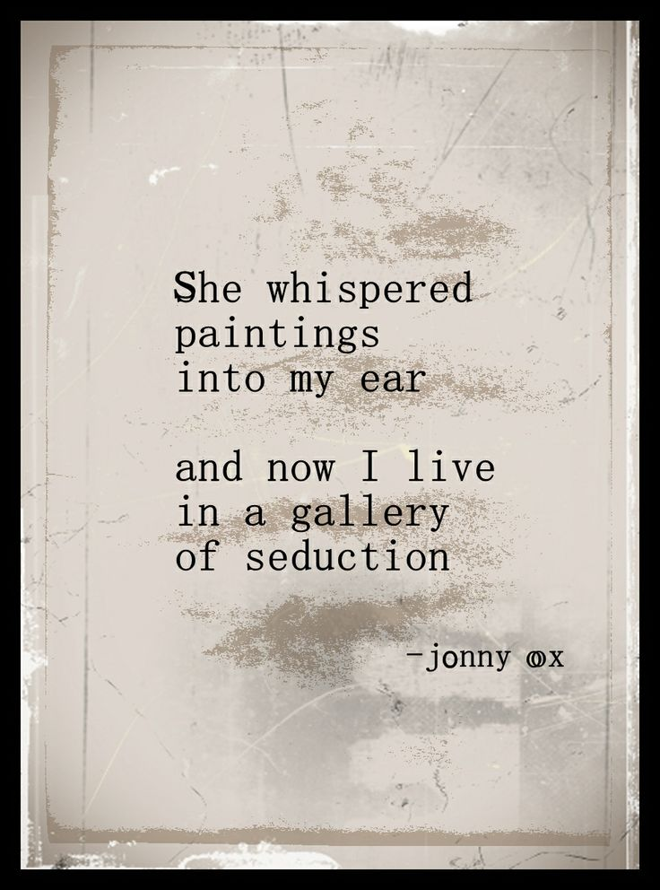 www.facebook.com/jonnyox410   love, poetry, beauty, sympathy, hope, passion, hot, day, night, vanity. vegan, rights, liberty, sex, alcohol,  paintings, landscapes, travel, mind, ghosts, shows, art, diy, romance,  jonny ox, music, folk