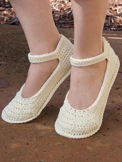 ANNIE'S SIGNATURE DESIGNS: Summer Slippers Crochet Pattern https://www.anniescatalog.com/detail.html?prod_id=131710