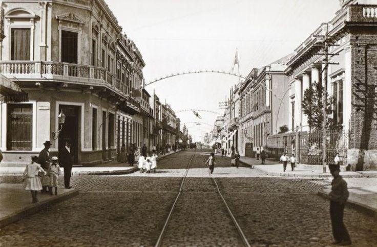 Calle Olavarría, La Boca-1900-1905