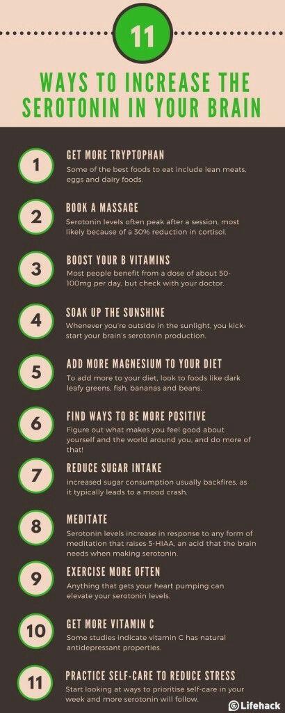 Increase seratonin naturally