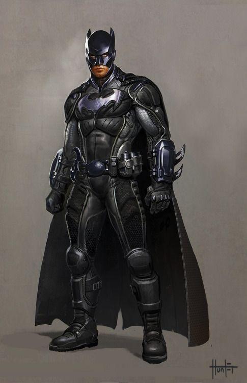 #Batman #Fan #Art. (Batman DC Concept Art) By: Hunter Schulz. ÅWESOMENESS!!!™ ÅÅÅ+