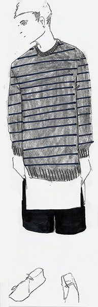 Shaun Shamson sketch