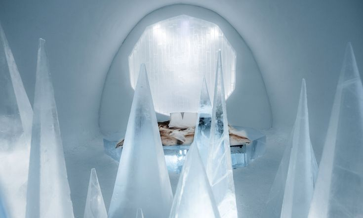 IceHotel veŠvédsku má nové pokoje zledu od26 umělců