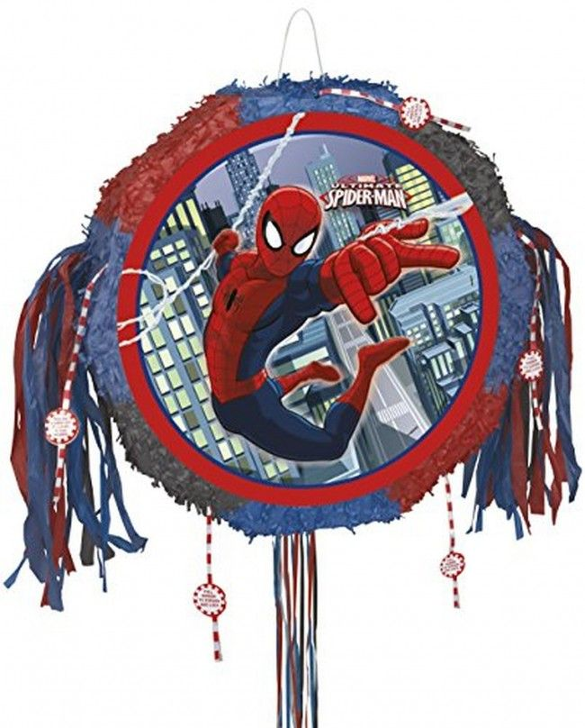 Pinata Spiderman Ultimate de Marvel - Castello | Jeux et Jouets