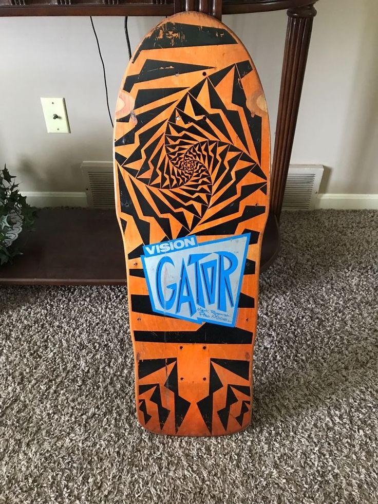 Vintage Skateboard - Original 1980's - Vision Skateboard  - Mark Gator Rogowski #Vision