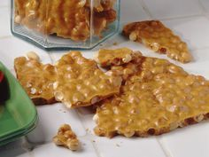 Peanut Brittle - Super Yummy!!! I made this from the recipe I found in my 1976 Betty Crocker Cookbook... glad to see the recipe is still the same. :)