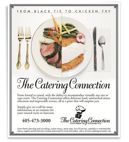 Catering Connection Ad | Hi-Ho Hi-Ho, off to work an' all that ...