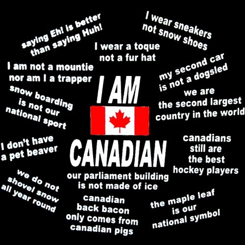 """I AM CANADIAN"" T-Shirt"
