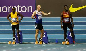 Richard Kilty mystified by false start that could deny World Indoor defence • Defending champion disqualified in British 60m trials after false start • UK Athletics to decide if Kilty can go to Portland in March