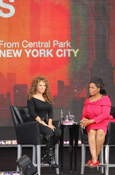 Mariah Carey Photos - The Oprah Winfrey Show: Fridays Live From New York - Zimbio