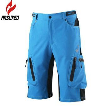 ARSUXED Outdoor Men Cycling Shorts Mountain Climbing Professional Fitness  Sport Shorts Quick Dry Breathable Sportswear   1170a3036