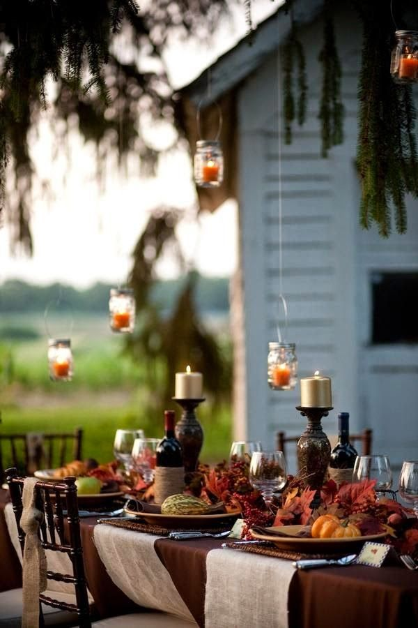 Autumn dining~