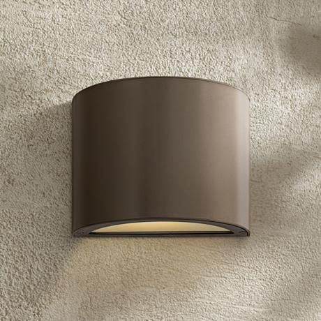 """Hinkley Luna 9"""" High LED Outdoor Wall Sconce"""