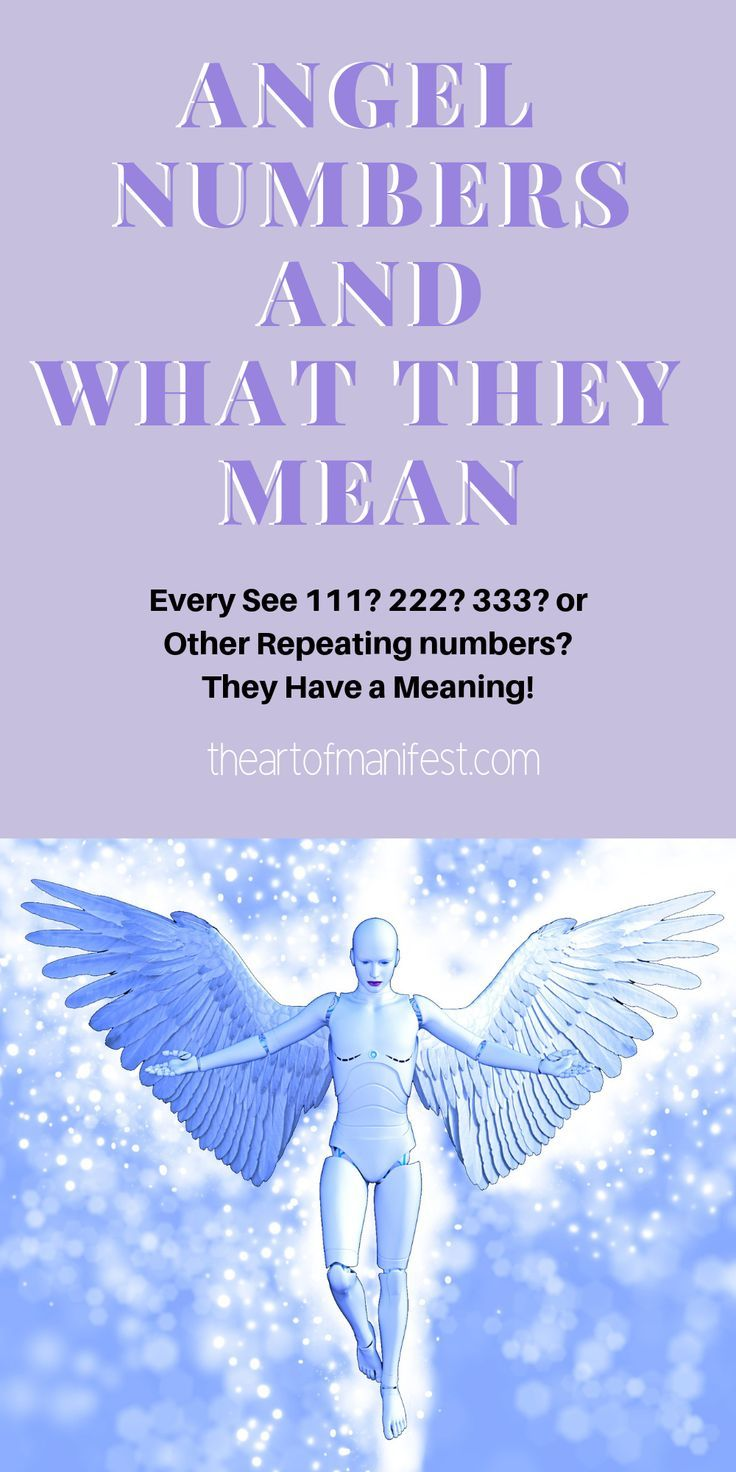 Angels Numbers What They Mean Law Of Attraction Angel Numbers