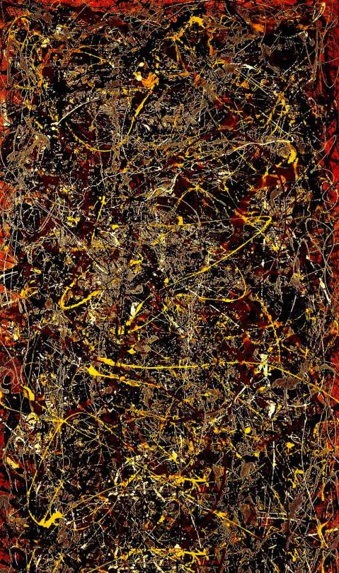 Jackson Pollock - Number 5, 1948.
