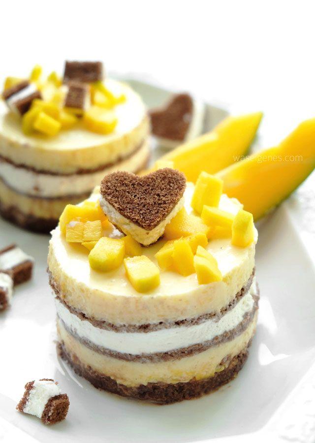 Rezept: Mango Törtchen mit Milch-Schnitte® | waseigenes.com
