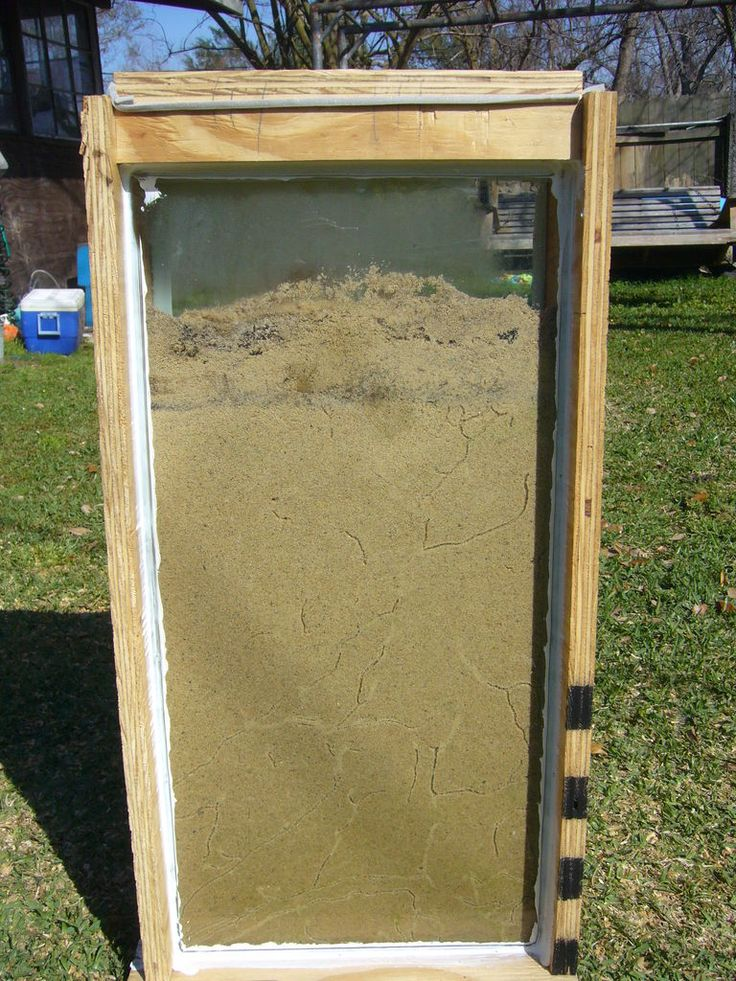 instructable- build a giant ant farm