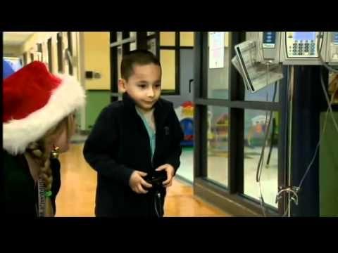 Santa spreads cheer at CT Children's Medical Center