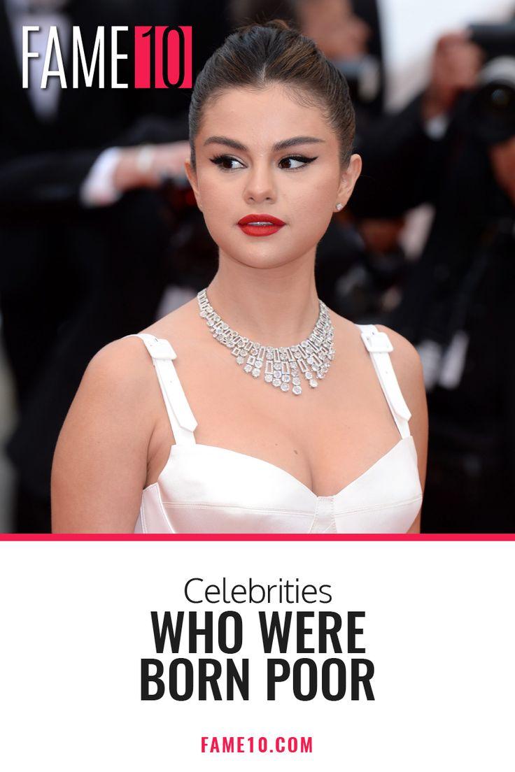 Celebrities who were born poor celebrities actor quotes