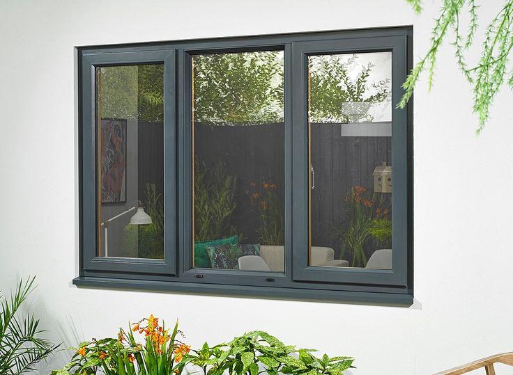 Ultra Grey Triple Window 1770mm x 1200mm