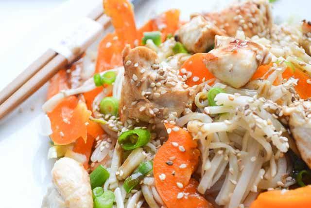 Aziatische Kip Salade