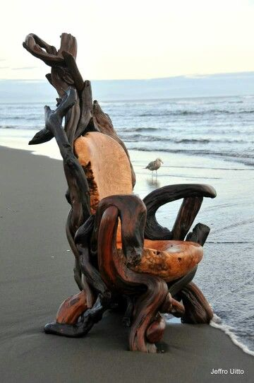 Driftwood Thrones By Jeffro Uitto U2013 Woodworking Ideas