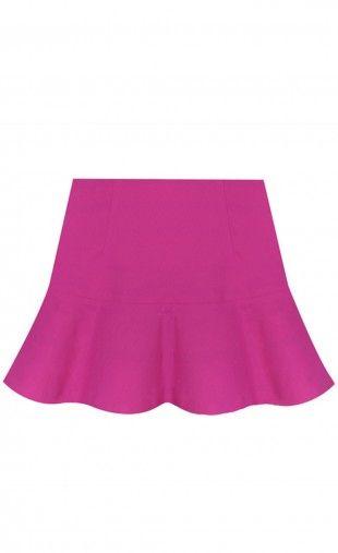 $24.99 Pleated Girls Plus Fishtail Short Mini Skirt: