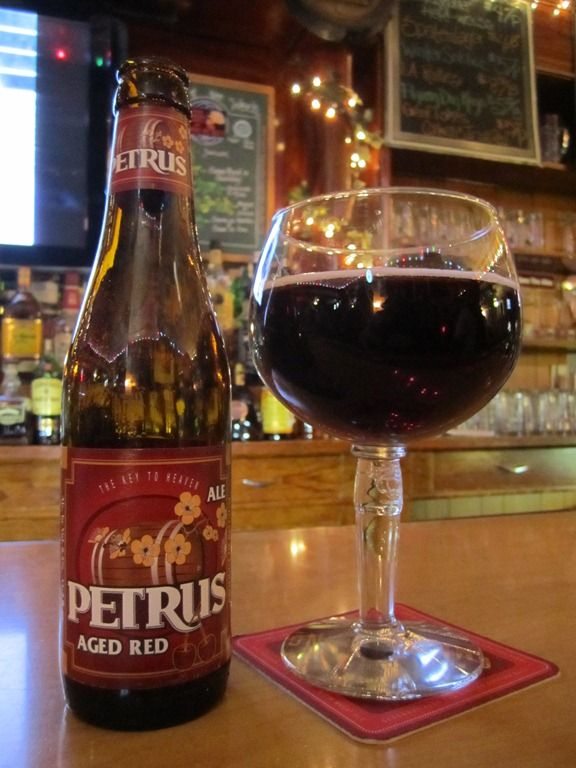 Petrus Aged Red Ale. 8.5% ABV. I had this on tap at Yard House in Pasadena, CA and Yard House at The Linq in Las Vegas NV. I like it... a lot.