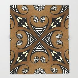 Cocoa Brown Throw Blanket