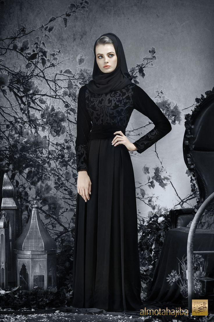 Abaya by Almotahajiba.Winter Collection 2013-2013.