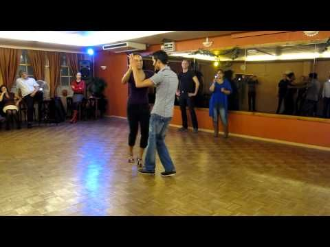 Visit: http://www.passion4dancing.com for full video! This is an excerpt of the Salsa Underarm turn lesson for beginners.
