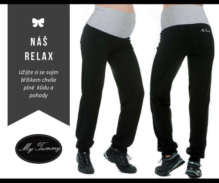 Když je spokojená maminka, je spokojené i miminko v bříšku :-) O to víc bychom na sebe měli myslet a dopřát si přesně takové oblečení, díky kterému bude každý náš den plný pohody. Pro to jsou jako přímo stvořené příjemně střižené fitness kalhoty. Vyzkoušejte jejich pohodlí :-)  http://mytummy.cz/tehotenske-kalhoty-fitness-sedy-pas.html
