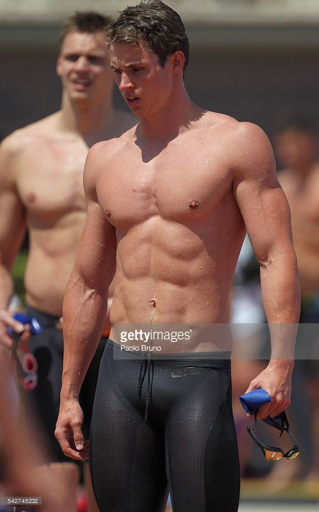 Ben Proud of Great Britain looks on after competing in the Men's 50m Freestyle heats during the 53rd 'Sette Colli' International Swimming Trophy at Stadio del Nuoto on June 24, 2016 in Rome, Italy.