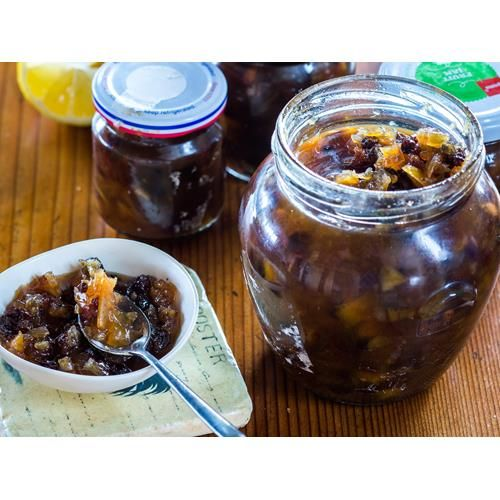 This lemon chutney goes so well with a hearty curry but is also fabulous to have with cheese and crackers