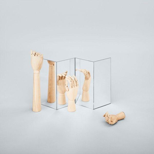 Wooden Hand kunst large | Hay