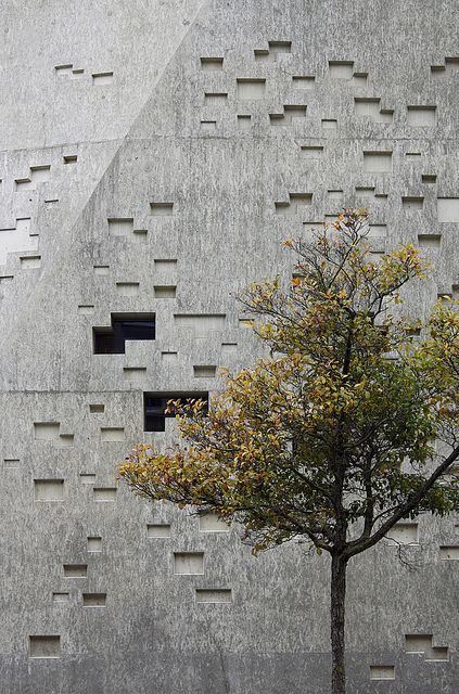 the extension to the Historical Museum Bern (aka KUBUS/TITAN, 2009) in Bern, Switzerland by :mlzd